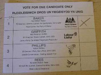 BBC Election Weblog