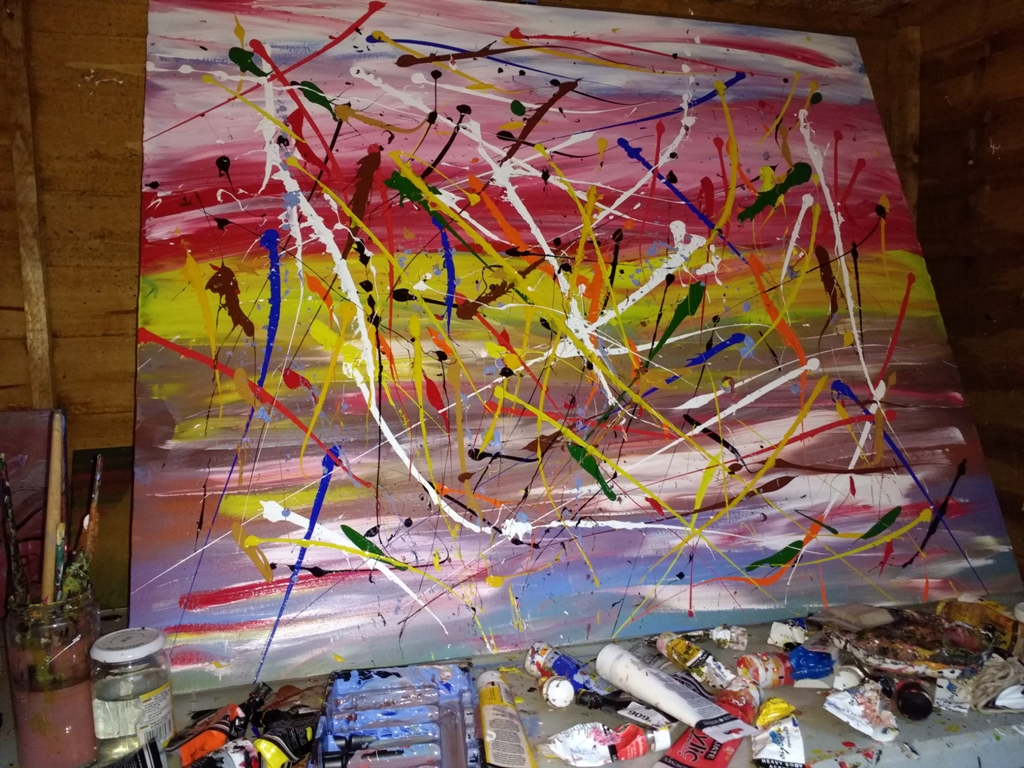 Work in Progress - Abstract Art