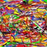 Another abstract made with Paint - @@@@@@@