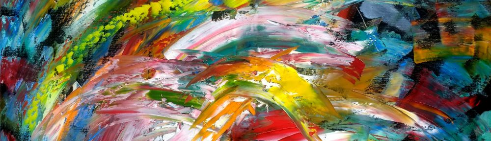April Abstract – Oil on Canvas 80cm x 60cm