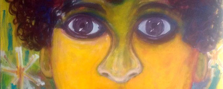 Pandora – a new acrylic painting 1000mm x 1200mm