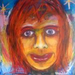 Sister Liz - a new acrylic painting 1000mm x 1200mm