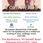 2 Old Heads at The Apothecary Cardiff